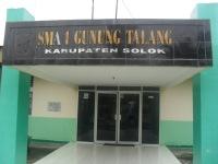 Foto Bagian depan  kantor SMA N 1 gunung Talang